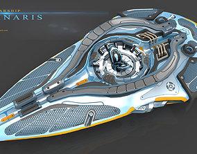 Luminaris Starship 3D model