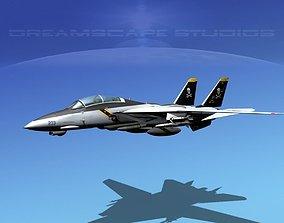 3D model Grumman F-14D Tomcat T08a VF-84