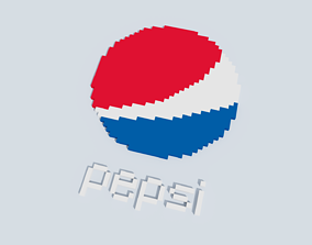 3D model Voxel Pepsi