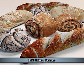 PBR Bakery Pastries 3D asset