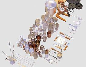 Bartender Tools Set 70 3D model