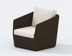 3D URBAN OUTDOOR WICKER RELAXING CHAIR