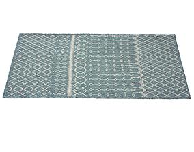3D asset Dilip Reversible Blue Indoor Outdoor Area Rug