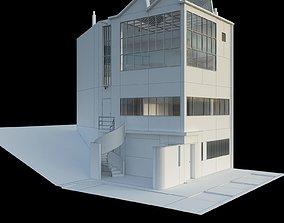 3D model 1922y Maison atelier Ozenfant