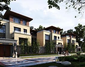 3D model villa 038 city
