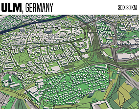 Ulm Germany 3D model