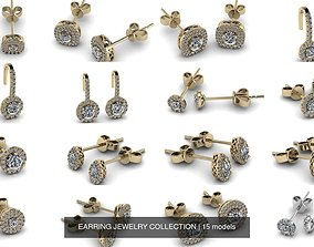 EARRING JEWELRY COLLECTION 3D model