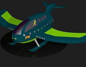 3D model craft Toy plane