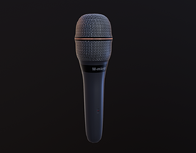 3D asset Dynamic microphone