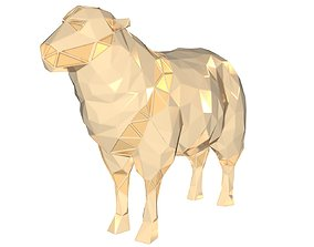 3D print model Polygonal Sheep Parametric