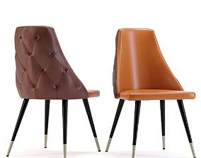 Chair Urban Desire Brown 3D