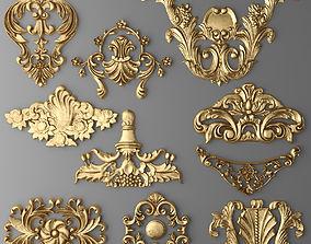 Cartouches SET 2 3D