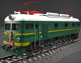 3D model freight locomotive VL 23-001