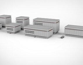 3D sci-fi architecture 9