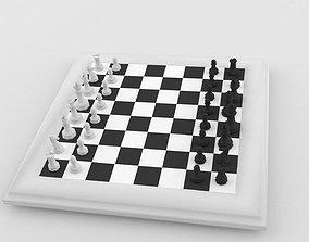 3D model Chess Set LOWPOLY