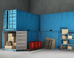 3D model PBR Warehouse Props Pack