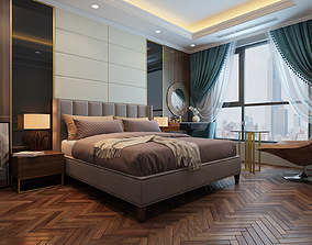 3D model Bedroom luxury classical