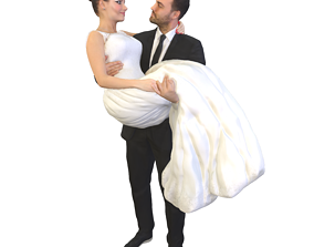 3D No415 - Bride And Groom