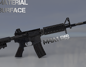M4A1 ris 3D model
