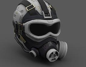 Scifi helmet ver 10 3D model