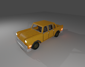 3D asset Taxi from Gta san andreas