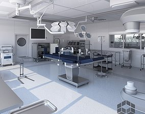3D model Medical Operating Room