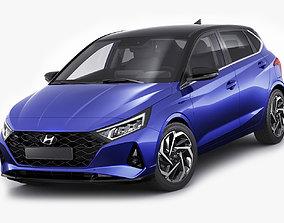 3D Hyundai i20 2021