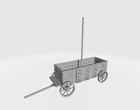 3D print model Medieval Bishops warwagon