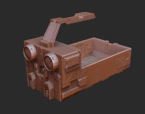 Transport Cart Gears of War 3D Model STL File 3D Print