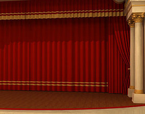 3D model Theatre stage