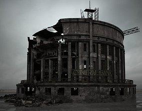 3D destroyed building 106 am165