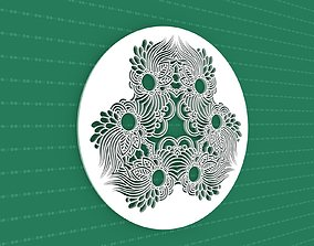 Mandala 3D decoration