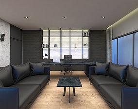 3dsmax OFFICE ROOM 3D model