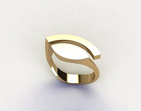 gold-ring angela hubel style special ring model
