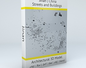 Jinan Streets and Buildings 3D