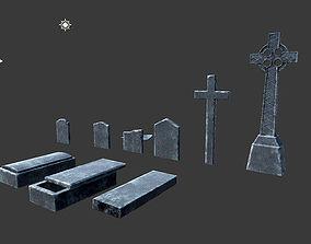 Graves 3D asset