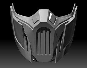 Sub-Zero Mask Mortal Kombat 11 3D printable
