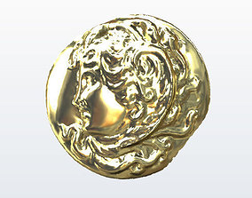 Medusa Cameo 3D printable model scans