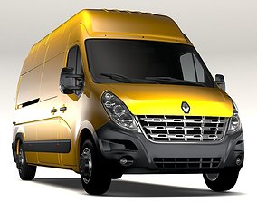Renault Master L3H3 Van 2010 3D