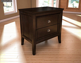 Ashley Martini Suite Nightstand 3D model