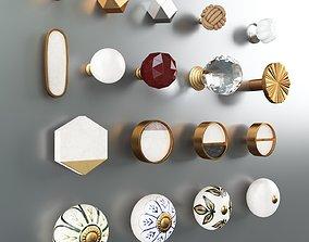 3D Zara Home Cabinet Door Knobs Set