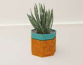 Self Watering pot 63 3D print model