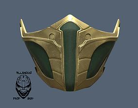 Mortal Kombat 11 Jade or Skarlet Mask 3D printable model