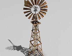 3D asset Windmill