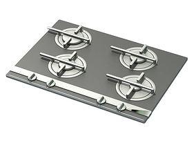 Stovetop Metallic 3D