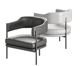 3D model Isabella chair Simon James armchair
