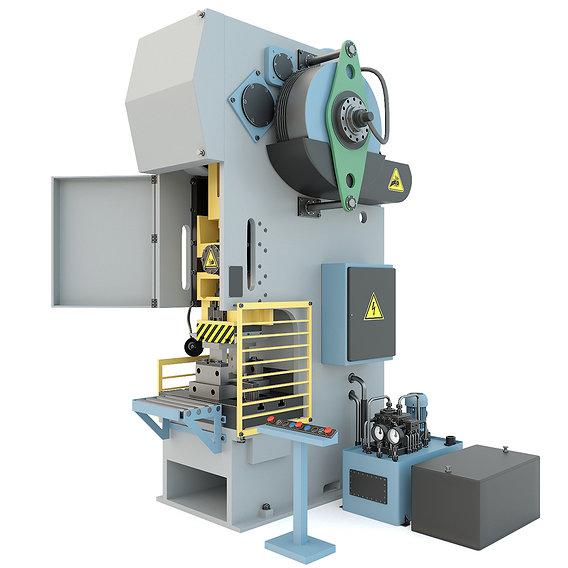 Industrial mechanical press-stamping machine tool KV2132