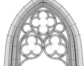 Lanceolate window 3D