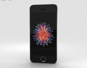 3D 4 Apple iPhone SE Space Gray