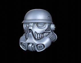 Stormtrooper Helmet Skull 3D print model